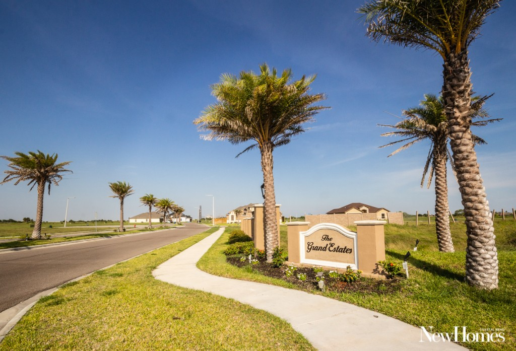 corpus christi, texas, grand estates subdivision, grand estates community, coastal bend new homes, northshore, texas homes, luxury homes, portland