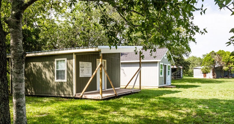 The Crossroads Builders Association Supports Tiny Homes Project in a Big Way