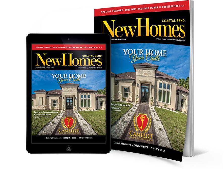 Coastal Bend New Homes, Corpus Christi, CC, Coastal Bend, Camelot Designs & Constructions, New homes guide, coastal bend new homes guide, real estate, realtor