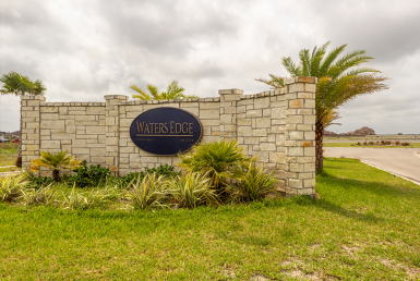 coastal bend, coastal bend new homes, live oak, waters edge